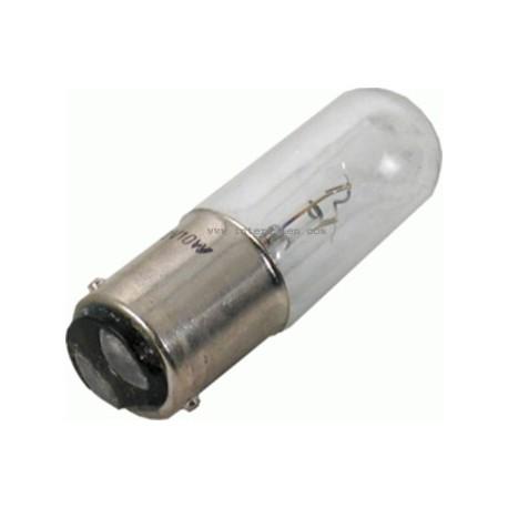 Ampoule culot Ba15d 16x54mm 12V 420mA 5W