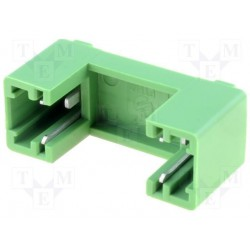 Porte-fusible isolée 5x20mm pour C.I. pas 15mm