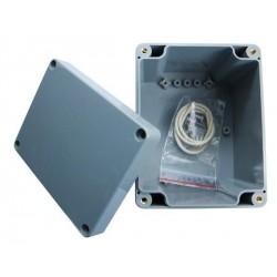 Boitier ABS étanche IP65 gris 115x90x55mm