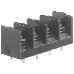 Bornier Weco 3 broches pour circuit imprimé au pas de 10mm