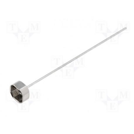 Support pour fusible 5mm pour circuit imprimé