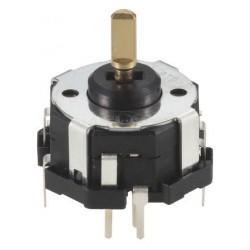 Joystick ALPS 4 axes avec poussoir central pour circuit imprimé