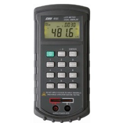 Multimètre digital pont RLC Ohmmètre, inductancemètre et capacimètre CHY41