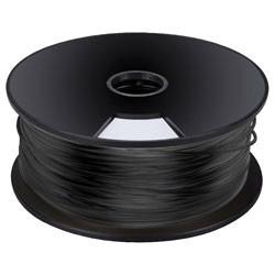 Bobine 1Kg fil PLA 3mm noir pour imprimante 3D