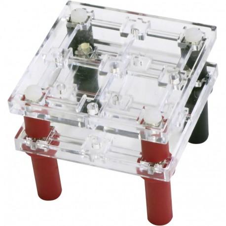 Module porte composants de sécurité 4 plots au pas de 38mm