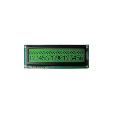 Afficheur alphanumérique LCD 2x16 caractères rétroéclairé caractères 9,5x5.2mm