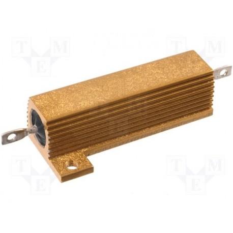 Résistance bobinée avec radiateur 50W 5% RH50 1ohm