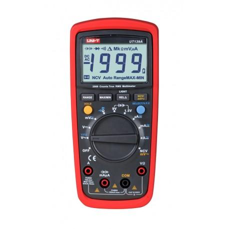 Multimètre digital auto-range True RMS 2000pts