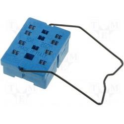 Support de relais pour circuit imprimé série 85/55