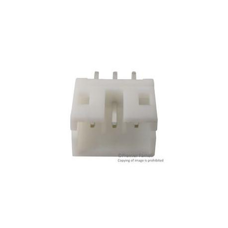 Connecteur type JST droit 3 broches mâle au pas de 2mm