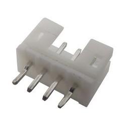 Connecteur type JST droit 4 broches mâle au pas de 2mm