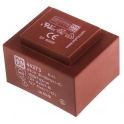 Transformateur moulé 230Vac / 2x12Vac 10VA
