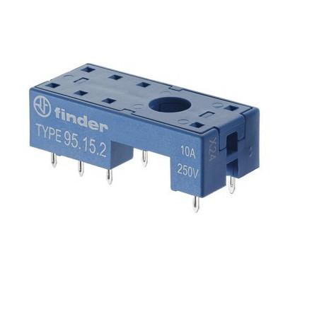 Support relais pour circuit imprimé série 40/44