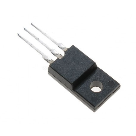 Transistor TO220-ISO MosFet N STP6NK60ZFP