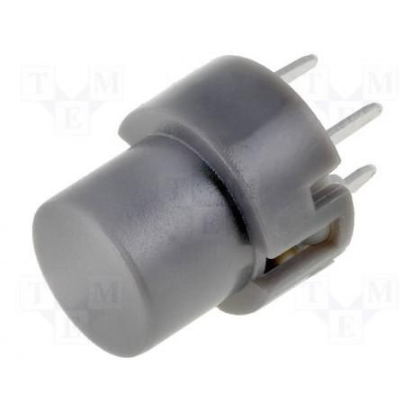 Touche pour circuit imprimé type D6 grise
