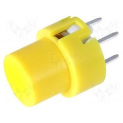 Touche pour circuit imprimé type D6 jaune