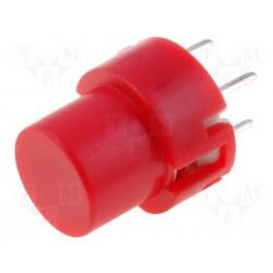 Touche pour circuit imprimé type D6 rouge