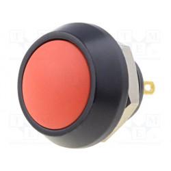 Poussoir N/O étanche IP67 type Apem orange