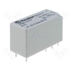Relais type Finder 4152 2R/T 8Amp. 24Vdc 1440ohms