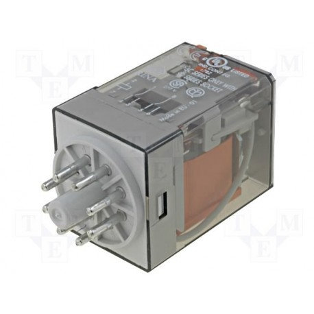 Relais type Finder 2 R/T type 6012 230Vac 10Amp.