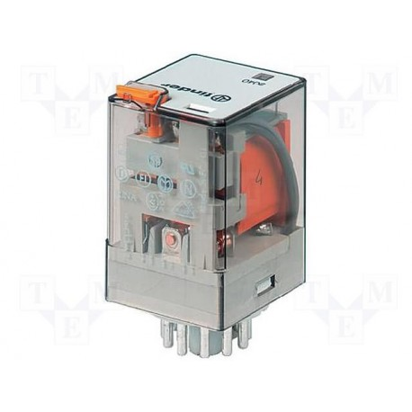 Relais Finder 3 R/T type 6013 24Vac 10Amp.