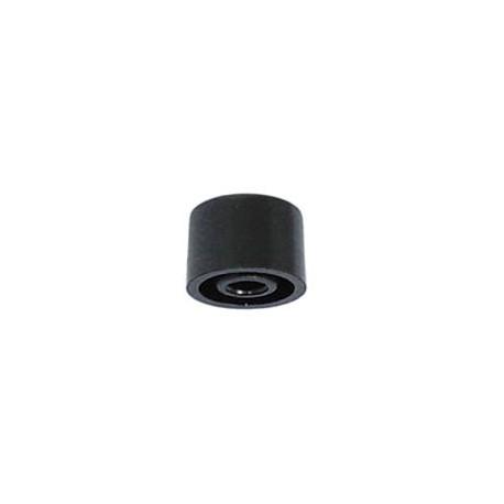 Capuchon noir 5 x 3,7mm pour poussoir intérieur 3mm