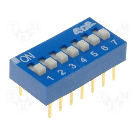 Inter dip-switch 7 contacts dil14