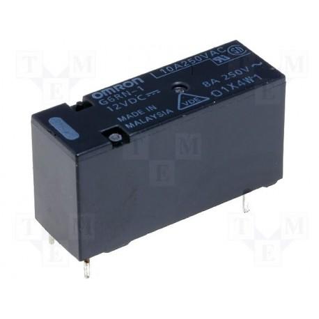Relais Omron type G6RN 1R/T 8Amp. 12Vdc