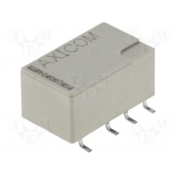 Relais CMS Te-C DPCO 2R/T 5Vcc contact 5Amp.