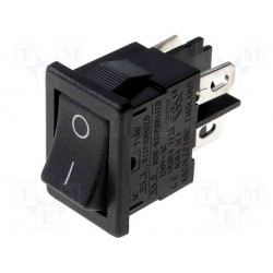Interrupteur à bascule bipolaire 19x13mm