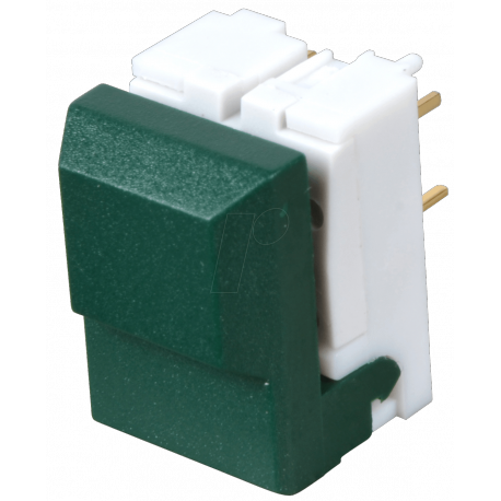 Touche digitast pour circuit imprimé 1T verte