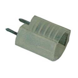 Douille ampoule E10 isolée à souder sur circuit imprimé