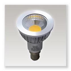 Ampoule E14 à led 4W 75° IP40 blanche chaud