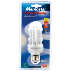 Ampoule éco-énergie 230V E27 15W