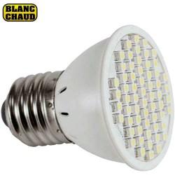 Ampoule E27 à 60 led blanche chaud 3W