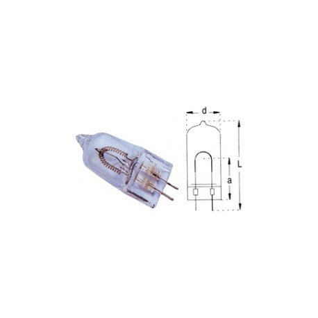 Ampoule halogène GX6,35 230V 650W