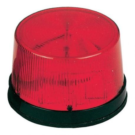 Flash stroboscopique rouge 12Vdc 70x43mm