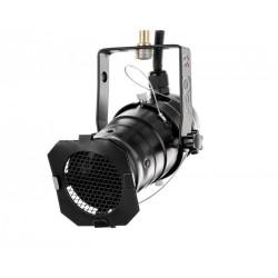 Projecteur PAR20 noir avec douille E27 + étrier