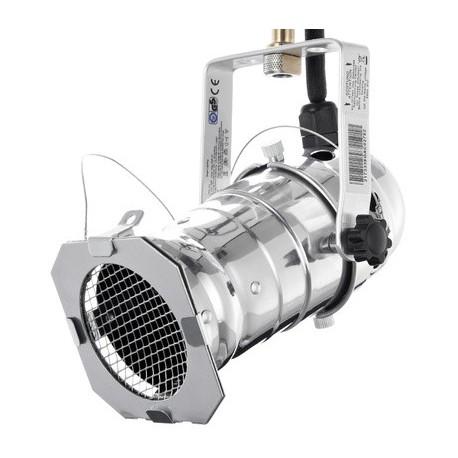 Projecteur PAR20 alu avec douille E27 + étrier