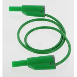 Cordon sécurité à reprise D4mm vert 1 mètre
