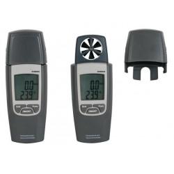 Anémomètre thermomètre LCD 4 digits