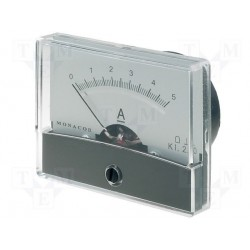 Galvanomètre 0 à 5 Amp. 60x47mm