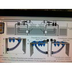 Maquette Etude des ultra-sons dans l'air et dans l'eau