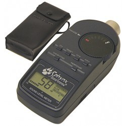 Décibelmètre LCD 50 à 126dB avec bargraph