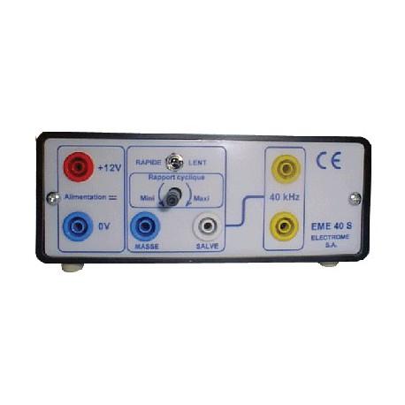 Ensemble emetteur / récepteur ultra-sons sécurité