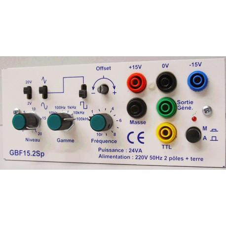 Générateur basse fréquence 0,1 à 100Khz