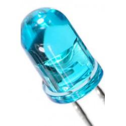 Diode led 5mm bleu 650mcd 20°