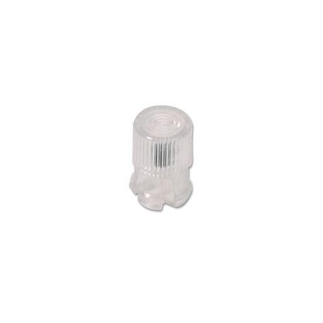 Cabochon clips led 5mm transparent