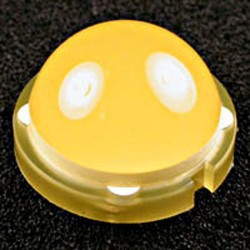 Diode led 20mm jaune 120° 10mA 50mcd
