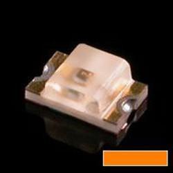 Led CMS 0805 orange 120° 160mcd